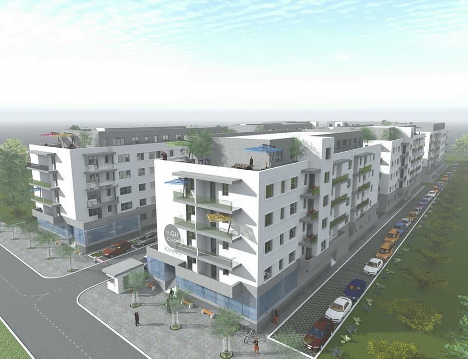 High Class Pallady Bucuresti primplan imobil