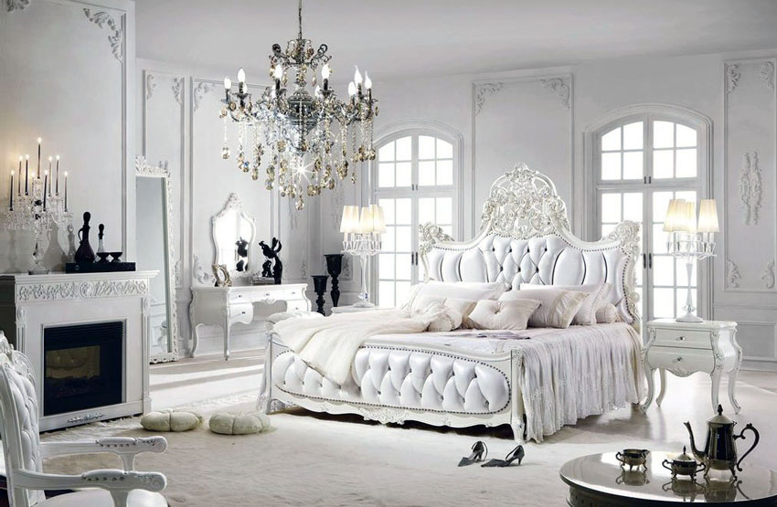 stil parizian dormitor